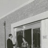 The Arts Council office at the James G. Hanes Community Center, 1958.
