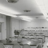 Interior view of the Arts Council office at the James G. Hanes Community Center, 1958.