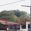 College Sixty Six Service Station on Polo Road, 2002.