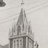 The First Baptist Church, located at 103 E. Second Street, 1918.