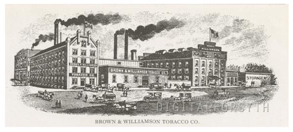 Brown & Williamson Tobacco Company, 1918.