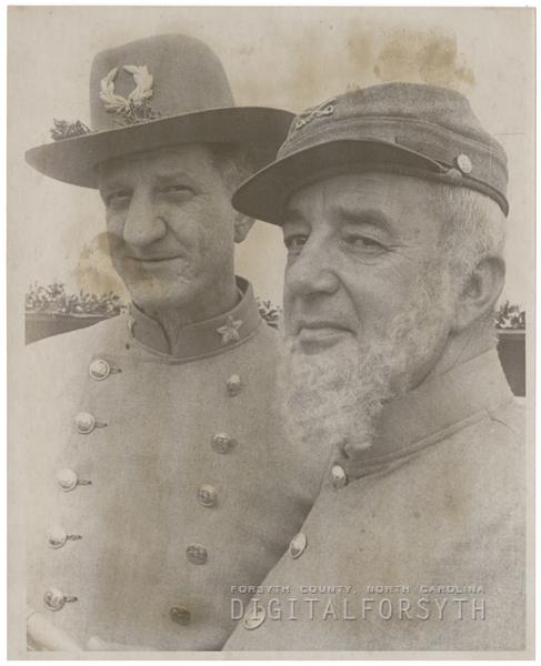Fort Fisher commemoration, 1962.