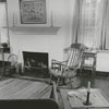 Interior of the Timothy Vogler House in Old Salem, 1961.