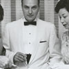 Albert Macklin, Mrs. Gerald Budd, Mr. Gerald Budd, and Margaret Macklin, 1961.