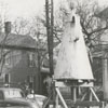 Moving the Coffee Pot from its location on Main Street at Belews Street, to the Salem By-Pass, 1959.