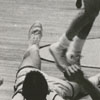 Wake Forest College basketball game, 1959.