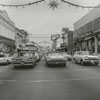 View of Liberty Street looking north from West Fourth Street intersection, 1962.