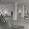Interior of Mary Reynolds Babcock Dormitory at Salem College, 1957.
