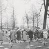 Easter Sunrise Service in God's Acre in Salem, 1958.