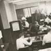 Winston-Salem Journal newsroom, 1958.