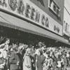 Christmas parade on North Liberty Street, 1958.