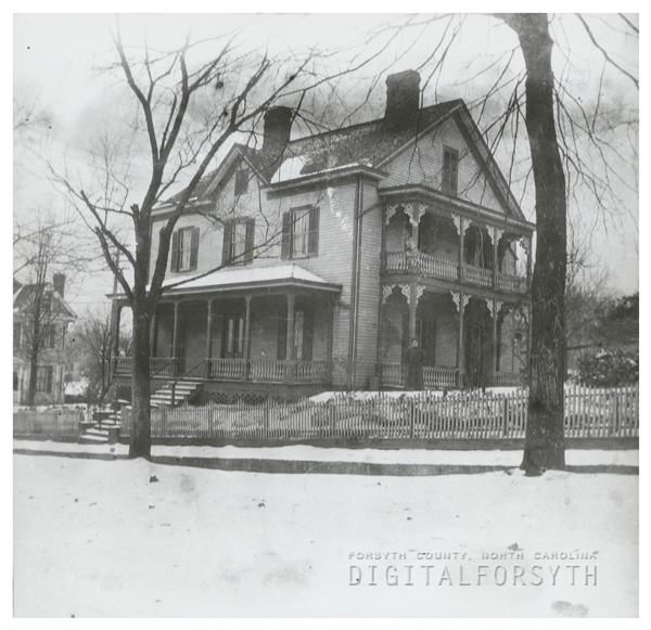 The Walter Hege house at 11 West Academy Street.
