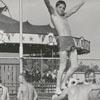 Swimming at Reynolds Park pool, 1958.