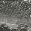Stock car race at Bowman Gray Stadium, 1957.