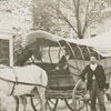 Nissen wagon and unidentified men.