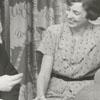 German furniture workers with their interpreter, 1956.