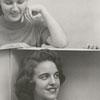 Mary Ruth Hilton, Jo Ann Hartman, and Sylvia Ann Smith, 1956.