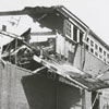 Aftermath of the B. F. Huntley Furniture Company fire, 1956.