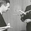 Bill McGee, Frank MacGregor, Tom Davis, and Francis McGuire, 1956.