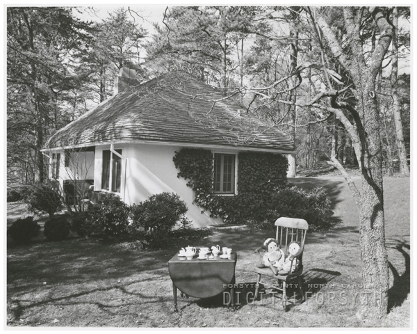 Playhouse on the Reynolda Estate, 1956.