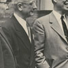 Dr. J. Harris Purks, Dr. M. H. Tryten, Dr. Dale Gramley, and Governor Luther Hodges, 1956.