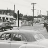 The arrow in the photo shows the starting point (near South Main Street) for the construction of the Salem by-pass, 1956.