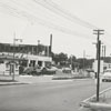 The area near the starting point (near South Main Street) for the construction of the Salem by-pass, 1956.