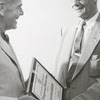 The regional Veterans Administration office received an award, 1956.