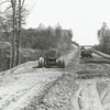 Construction on Highway 52, 1948.