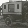 Vogler's ambulance at Boy Scouts field hospital.