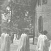Salem College graduation.