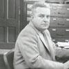 Frank Spencer, Winston-Salem Journal sports reporter, 1955.