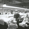 Interior of a Hanes Hosiery Mill, 1960.