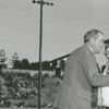 Piedmont Bowl queen at the Piedmont Bowl football game, 1946.