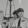 Men at a truck rodeo, 1955.