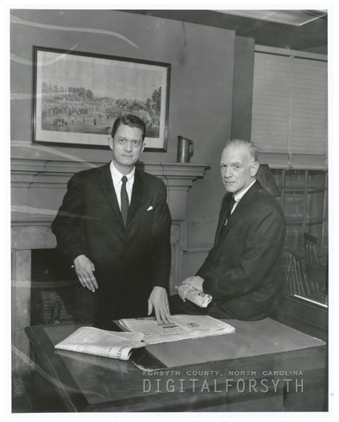 Jim Gray and Gordon Gray, 1960.