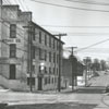 Buildings at the corner of North Cherry and Sixth Streets, 1959.