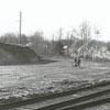 Train yards of the Norfolk & Western Railroad.