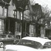 South Main Street at Belews Street, looking south, 1956.