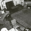 The living room in Reynolda House, 1956.