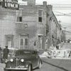 Intersection of North Liberty and Second Streets, 1940.