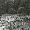Swimming pool at Skyland School, 1925.