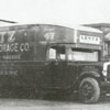 Lentz Transfer and Storage Company trucks, 1929.