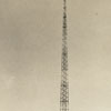 WSJS radio tower at Salem Creek facing Happy Hill, 1941.