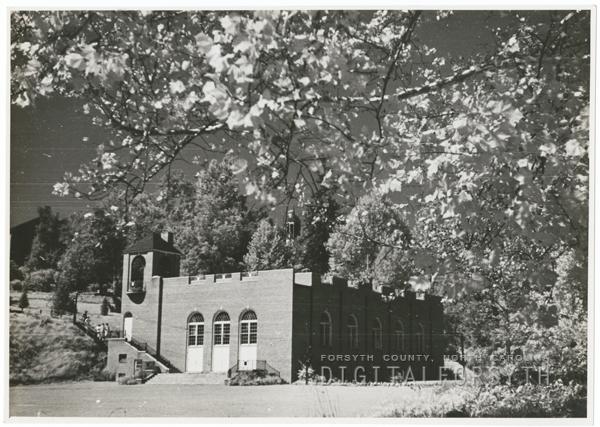 The gymnasium at Salem College.