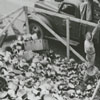 Collecting items made of aluminum for the aluminum drive, 1941.