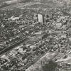 Aerial looking north from Salem, 1938.