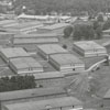 R. J. Reynolds Tobacco Company storage sheds on Thirty-Third Street, 1958.