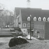 Bethania Moravian Church, from the rear of the property.