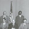 Mayor Kurfees and Board of Aldermen, 1949.